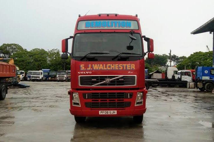 VOLVO FH13 for sale Malaysia Selangor KL Rebuild Truck Malaysia